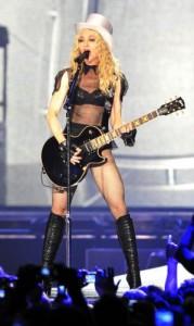 Fotka Madonny z koncertu Düsseldorfe